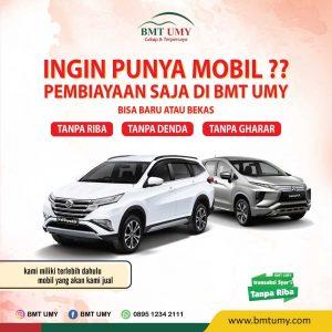 Kredit Mobil Syariah hanya di BMT UMY