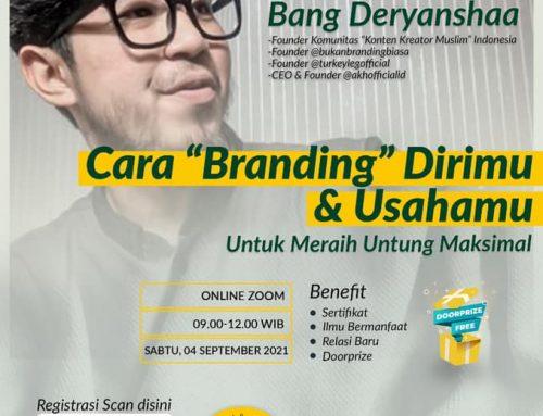 Webinar Bisnis Bersama Bang deryanshaa