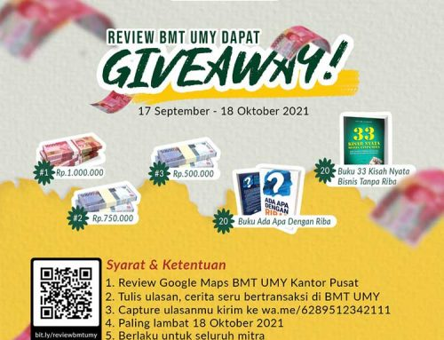 Review BMT UMY dapat giveaway